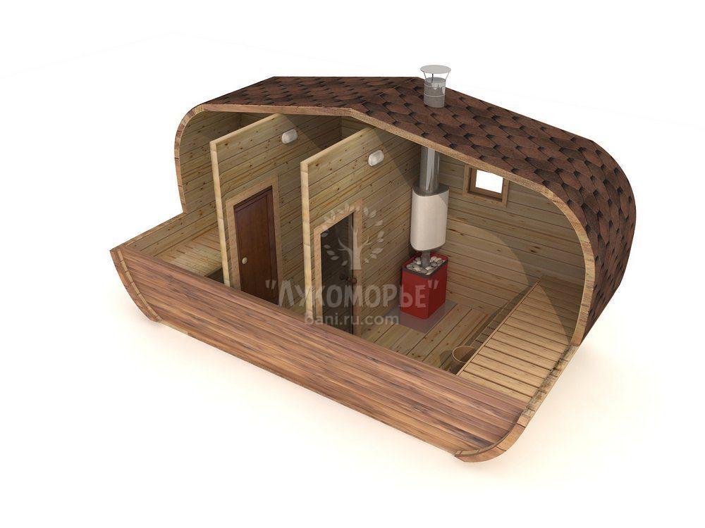 купить готовые бани под ключ в уфе